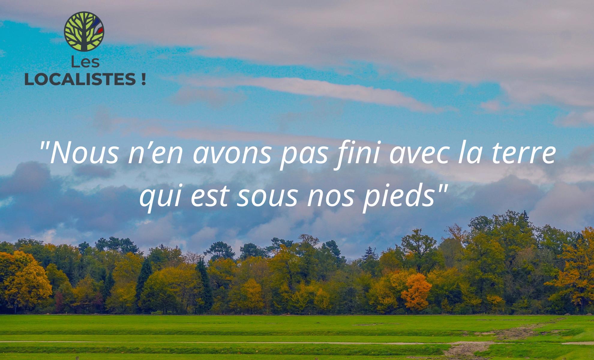 Les localistes Hervé Juvin Andréa Kotarac